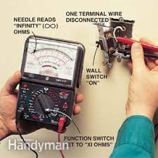 how to use a multimeter how to use electrical wiring and sprinklers