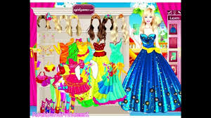 barbie beauty princess dress game girls games