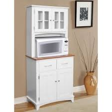 microwave cabinets with hutch microwave cart with hutch wayfair