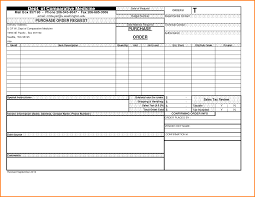 Purchase Order Template In Excel 6 Purchase Order Template Excel Memo Templates