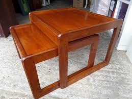 G Plan Coffee Table Teak - nest of tables mid century g plan 1960 u0027s solid teak retro