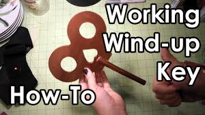 how to make a working wind up key diy youtube