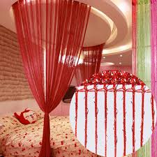 glitter string curtain panels fly screen u0026 room divider voile