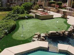 backyard golf putting greens u2014 home design lover best backyard