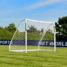 3m x 2m forza match futsal goal post net world sports