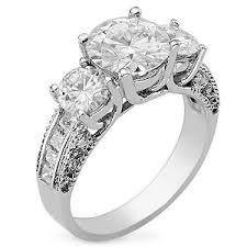 faux engagement rings diamonds multi engagement rings my faux