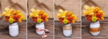 Mason Jar Vases Mason Jar Vases Ready To Become Unique Centerpieces