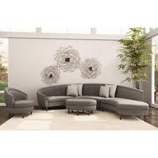 Curved Sectional Sofa Leather Sectional Sofa Black Leather Sofa Grey Corner Sofa