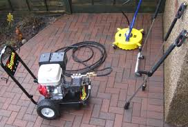 Cleaning Patio With Pressure Washer Introduction To Pressure Washer Services In Parkland Excelsior Power