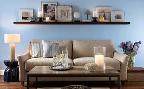 Modern Living Room With Blue Paint Color Scheme Colors To Paint - Paint color choices for living rooms