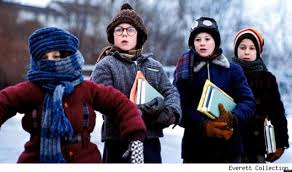 a christmas snow a christmas story how did they do the infamous flagpole