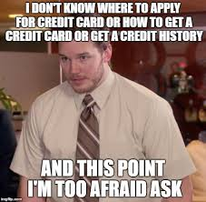 Rejected Meme - getting rejected on a secured credit card my whole life is a meme