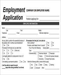 simple printable job application template job application forms simple job application form forms exles