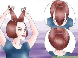 two layer haircut for girls how to do a layered haircut 12 steps with pictures wikihow