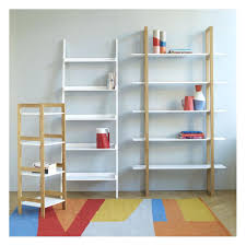 Large Ladder Bookcase Desk Ana White Build A Leaning Ladder Wall Bookshelf Free And