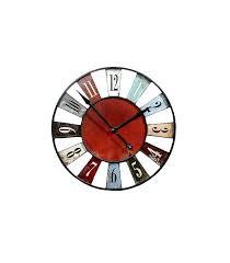 pendule originale pour cuisine horloge cuisine horloge cuisine horloge murale originale