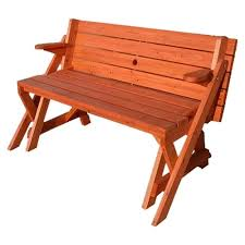 two in one convertible bench and picnic table home design
