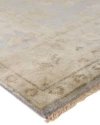 Oushak Rugs Reproduction Hand Knotted Oushak Rug Neiman Marcus