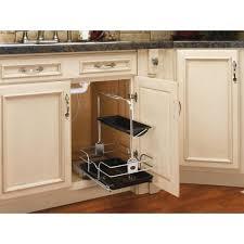 kitchen sink cabinet caddy rev a shelf 19 5 in h x 11 25 in w x 16 25 in d