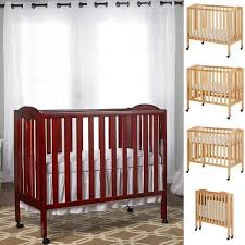 Folding Mini Crib On Me 3 In 1 Folding Portable Crib Steel Grey