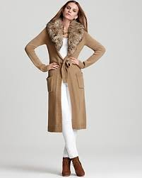 sweater with faux fur collar courageous magazine fashion finds sweaters that flatter