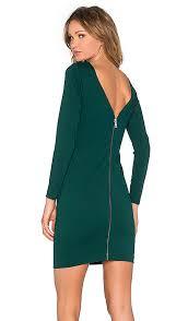 green spandex dress revolve