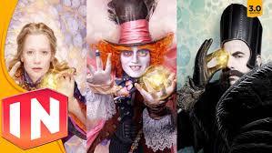 disney halloween figurines disney infinity 3 0 alice the mad hatter u0026 time figures teased