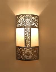 Moroccan Sconce Brown Wall Light With Moroccan Lights 2 Jpg 440 560 Lamp Pinterest