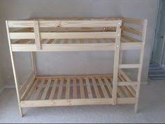 Bunk Bed With Open Bottom A Crib For The Bottom Bed On The Ikea Mydal Bunk Bed Best