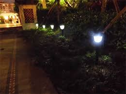 aliexpress buy outdoor solar power led stake lantern garden