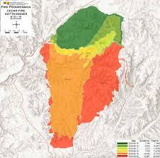 Show Me A Map Of Arizona by Cedar Fire Near Show Low Arizona U2013 Wildfire Today