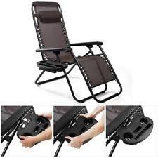 Armchair Drink Holder Plastic Patio U0026 Garden Chairs Ebay