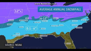 Snow Map Usa by Georgia U0027s 2017 18 Snowfall Forecast Youtube