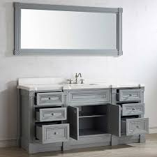 Bathroom Vanity Cabinet Only Bathroom 72 Inch Vanity With Top Cabinet Only Mirror Onsportz Com