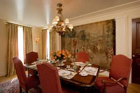 dining room decorating ideas the simplicity in awesome decoration fantastic wall painting of dining room decorating ideas completed with chandelier lightings also furnished with wooden
