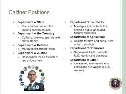 President S Cabinet The President And The Executive Branch