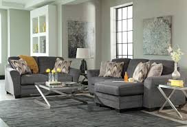 ferron chaise sofa charcoal levin furniture