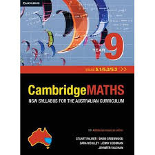 booktopia cambridge maths year 9 stage 5 1 5 2 and 5 3 nsw
