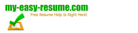 Easy Resumes Contact Us My Easy Resume Com