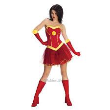 halloween iron man costume ladies rescue iron man marvel superhero fancy dress costume tutu