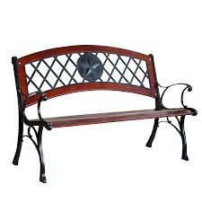 Steel Garden Bench Shop Patio Benches At Lowes Com