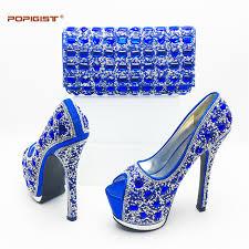 wedding shoes royal blue royal blue italian woman shoes shining diamond wedding shoes