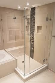 Shower Doors On Tub Corner Frameless Shower Door Tub Knee Wall Shower Door Experts