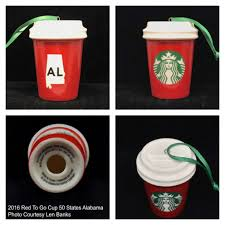 starbucks 50 state collection starbucks ornament