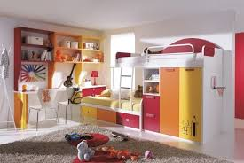 Bunk Bed With Study Table Bedroom Design Excellent Bunk Beds Design With Wall Moutn
