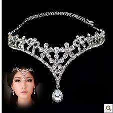 2018 bridal ornaments korean brides tiara ornaments from