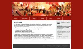 wedding planner website html css and javascript project on wedding planner system