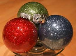 diy glitter ornaments with pledge easy the frugal