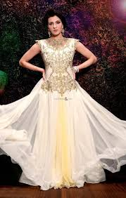 buy evening gown designs of new style designer indo western gowns