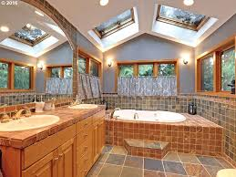 rustic master bathroom slate tile floors zillow digs zillow